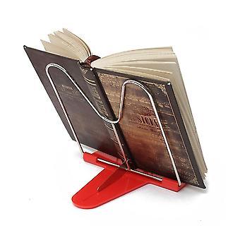 Justerbar vinkel vikbar bärbar läsboksstativ dokumenthållare