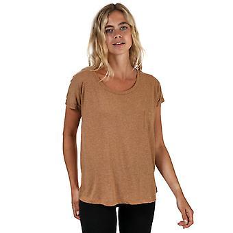 Women's Vero Moda Lua T-Shirt in Brown