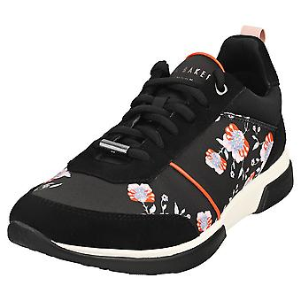 Ted Baker Aylahh Womens Fashion Trainers in Black