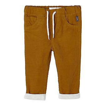 Name-it Boys Newborn Pants Barry Cumin