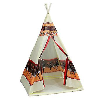 キッズプレイテントキッズテントテントハウスインドスタイルインドインド風おもちゃテントハウスカラフル