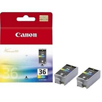 Canon CLI-36, Színalapú tinta, Színalapú tinta, 2 db, Multipack