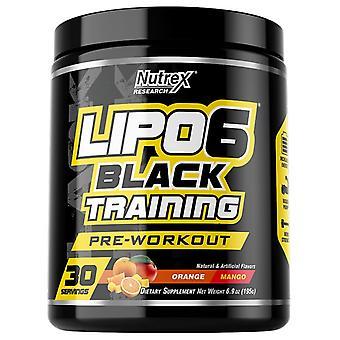 Lipo-6 Black Training, Orange Mango - 195 grams