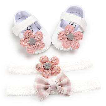 Baby Crib Shoes, Cotton Flowers Shoes