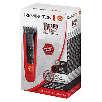 Remington MB4128 Beard Hair Timmer Styler Manchester United Special Edition