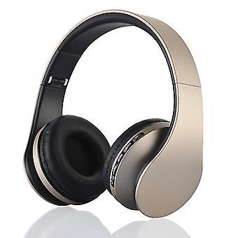 Qian ワイヤレス Bluetooth ヘッドホンを耳に、リドヒ Hi-fi ステレオ ヘッドセット ディープ ベース、折りたたみ式で軽量、有線およびワイヤレス モードを M で構築