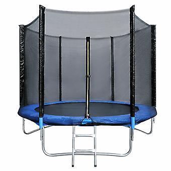 Silktaa Round Waterproof Trampoline With Safety Fence Net Indoor And Outdoor Round Trampoline