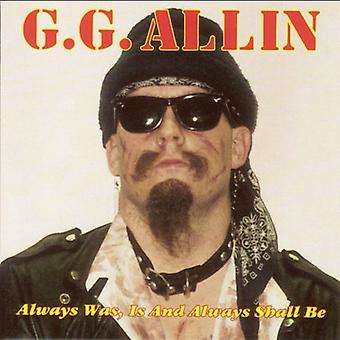 Gg アリン - 常にだった、& ならない [CD] USA 輸入