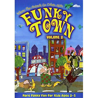 Funky Town - Where the Animals Go Urban: Funky Town, Vol. 2 [DVD] USA import