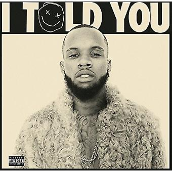 Tory Lanez - I Told You [Vinyl] USA import