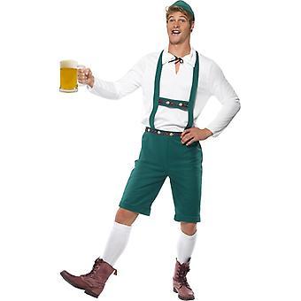 Oktoberfest kostume kostume lederhosen ølfestival øl kostume