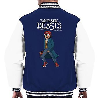Fantastic Beasts Ash Pokemon Men's Varsity Jacket