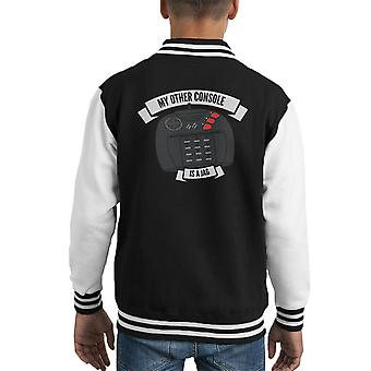 My Other Console Is A Jag Atari Kid's Varsity Jacket