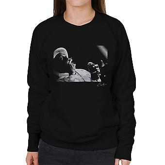 Lee Scratch Perry im Dingwalls London 1980er Jahre Damen Sweatshirt