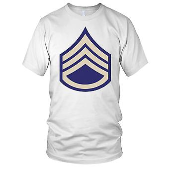 US Army WW2 Staff Sergeant Chevrons Clean Effect Kids T Shirt