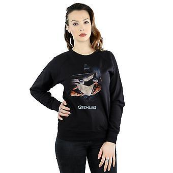 Gremlins Women's Gizmo Distressed Poster Sweatshirt