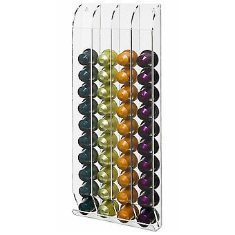 OnDisplay Wall Mounted Acrylic Nespresso® Coffee Capsule/Pod Holder