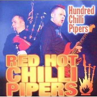 Red Hot Chilli Pipers - Hundred Chilli Pipers [CD] USA import