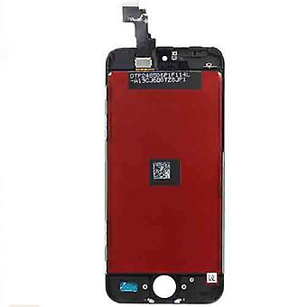 iPhone 5 c LCD schermo-nero-A + qualità