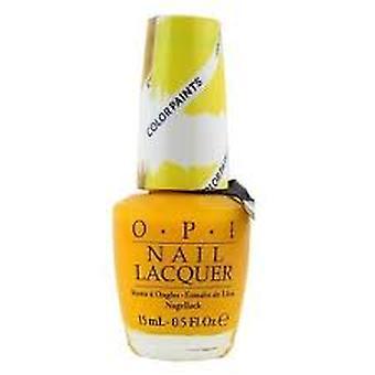 OPI färg målar samling nagellack 15ml - Gul primärt