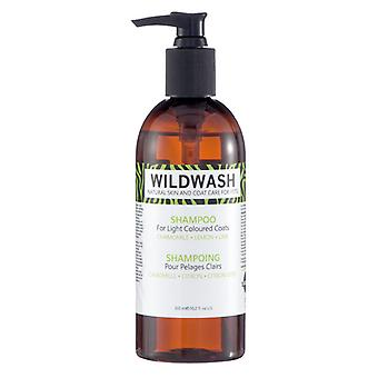 Wildwash Natural Coat & Skin Care Dog Shampoo For Light Coloured Coats