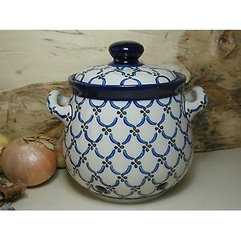 Zwiebeltopf, 3500 ml, 23 x 22 cm, Tradition 25 - polish pottery - BSN 7755