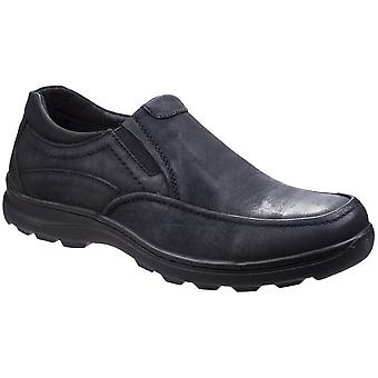 Fleet & Foster Mens Goa Casual Slip On Leather Loafer Shoes