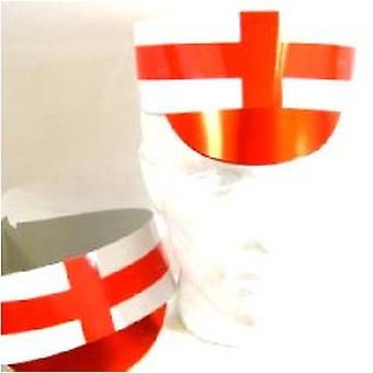 England papp topp Cap - pakke med 5