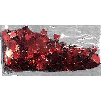 Confetti RED HEARTS pussi 84g