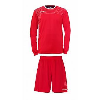 Uhlsport MATCH team Kit (shirt og shorts) langærmet