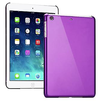 Hardcase מבריק סגול עבור Apple iPad האוויר + רדיד אלומיניום