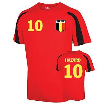 Belgium Sports Training Jersey (hazard 10)