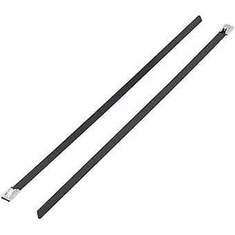 KSS 1091195 BSTC-300 Cable tie 300 mm 4.60 mm Black Coated 1 pc(s)