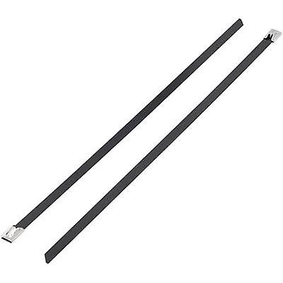 KSS 1091195 BSTC-300 Cable tie 300 mm Black Coated 1 pc(s)