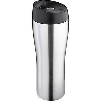 Isosteel Thermos travel mug Stainless steel (brushed) 400 ml VA-9581Q