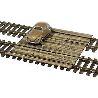 MBZ 80213 H0 sleeper level crossing Laser-cut