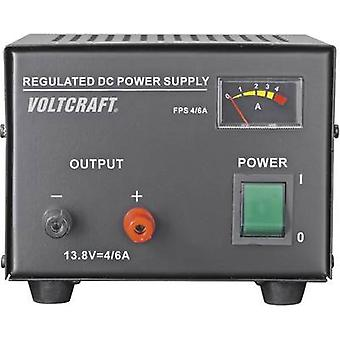 VOLTCRAFT FSP-1134 Bench PSU (fixed voltage) 13.8 V DC 4 A 55 W No. of outputs 1 x