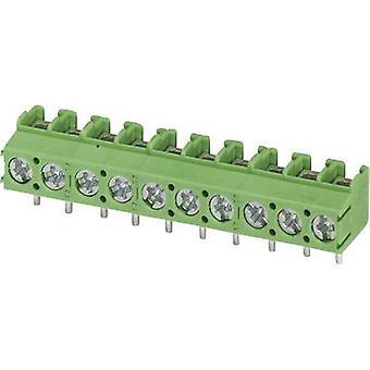 Phoenix Contact PT 1,5 / 6-5,0-V terminal de parafuso 2,50 mm ² número de pinos 6 verde 1 computador (es)