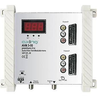 Axing AVM 3-00 TWIN AV-modulateur