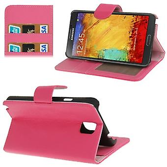 Protective case (flip cross) for mobile Samsung Galaxy touch 3 N9000 pink