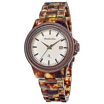 ORPHELIA Damen analoge Uhr wildes Leben multicolor Kunststoff 153-2709-83