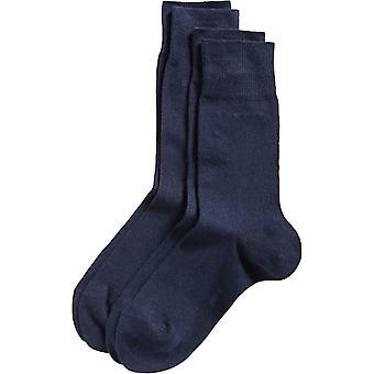 Esprit Basic 2 Pack Socks - Marine Navy