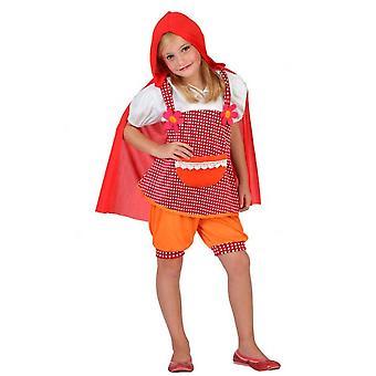 Kinder Kostüme Mädchen Red Riding Hood-Kostüm für Mädchen