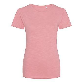 AWDis Womens/Ladies Girlie Slub T Shirt