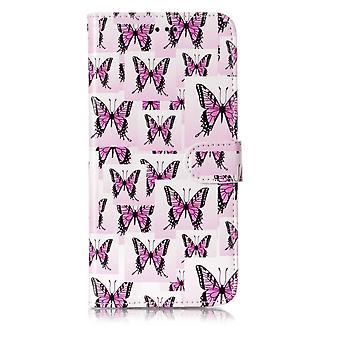 Samsung Galaxy S9 Plus Plånboksfodral - Butterflies
