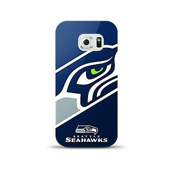 Mizco Sports NFL Oversized Snapback TPU Case for Samsung Galaxy S6 (Seattle Seahawks)