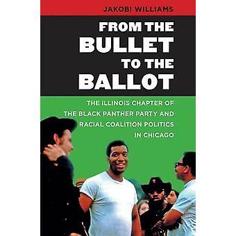 Fra punktmerket stemmeseddelen - Illinois-kapittel av svart bukse
