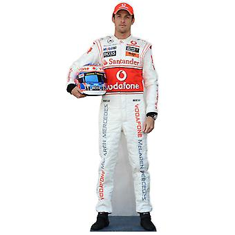 Jenson Button, Formule 1 (F1) Lifesize karton gestanst / Standee