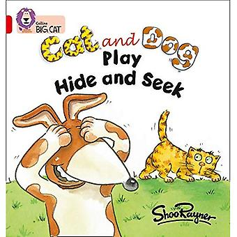 Chat et chien jouent à cache-cache: bande 02 a/rouge un (grand chat Collins)
