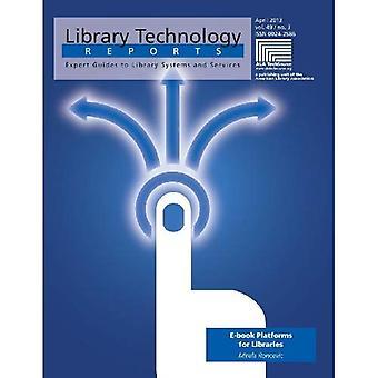 E-kirja alustoja kirjastot